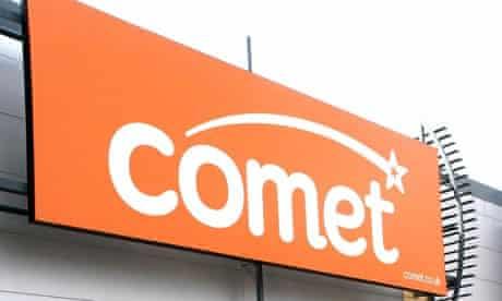Kesa sells loss-making Comet for £2