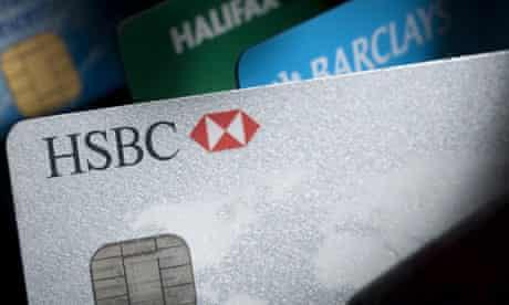 A HSBC current account debit card