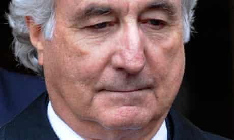 Bernard Madoff exits Manhattan federal court in New York