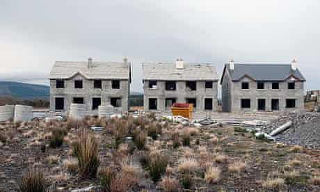 A newbuilt ghost town in County Leitrim left by the collapse of the property bubble in Ireland