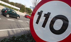 Spain's new speed limit on motorways is 110km/h