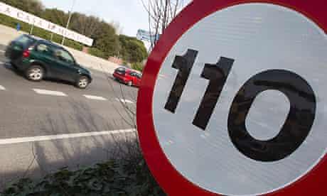 Spain's new speed limit on motorways is 110km/h