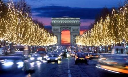 Champs Elysees, Paris, France Champs Elysees, Paris, France