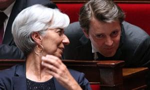 French finance minister Christine Lagarde
