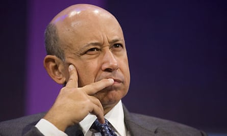 Goldman Sachs boss Lloyd Blankfein