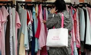 Inflation shopping shopper clothes bolton market