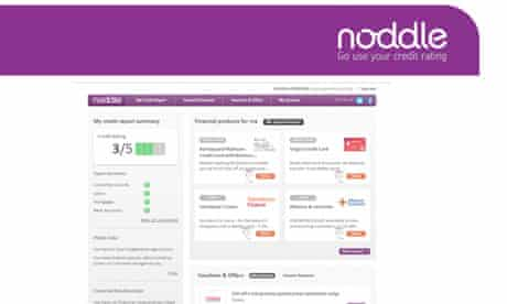 noddle credit report website