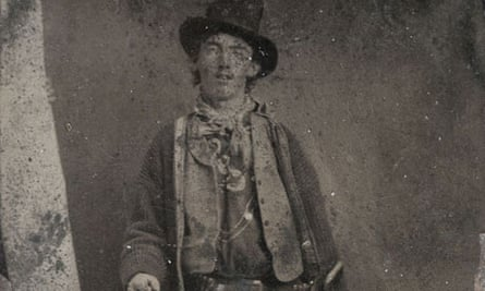 the one-and-only authenticated photograph of Billy the Kid - the famous Upham tintype