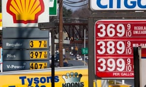 Gas Prices in U.S. Rise 40.5 Cents in One Month