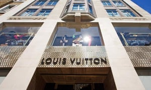 Louis Vuitton flagship store in Bond Street, London