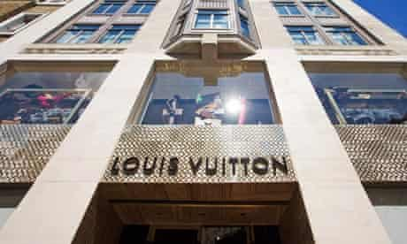 Louis Vuitton flagship store in Bond Street, London