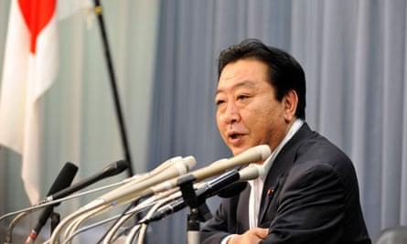 Japanese Finance Minister Yoshihiko Noda