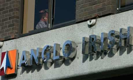 Anglo Irish Bank headquarters in Dublin
