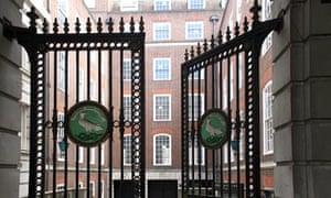 Temple Court Hotel on Fleet Street, London