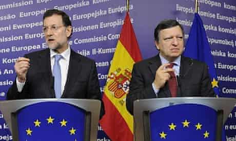 Mariano Rajoy and José Manuel Barroso