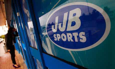 A closed-down JJB Sports store