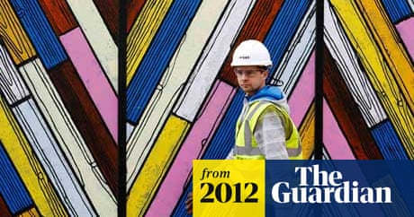 Sharp fall in UK construction output   Business   The Guardian