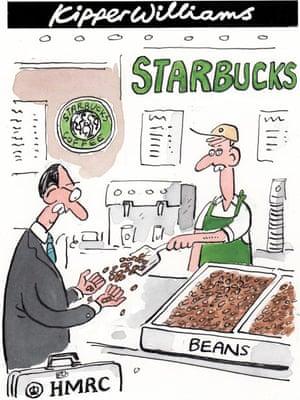Kipper Williams on Starbucks