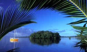 Harbour scene, Suva, Fiji