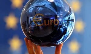A euro decoration