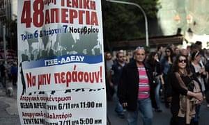 Greek strikes
