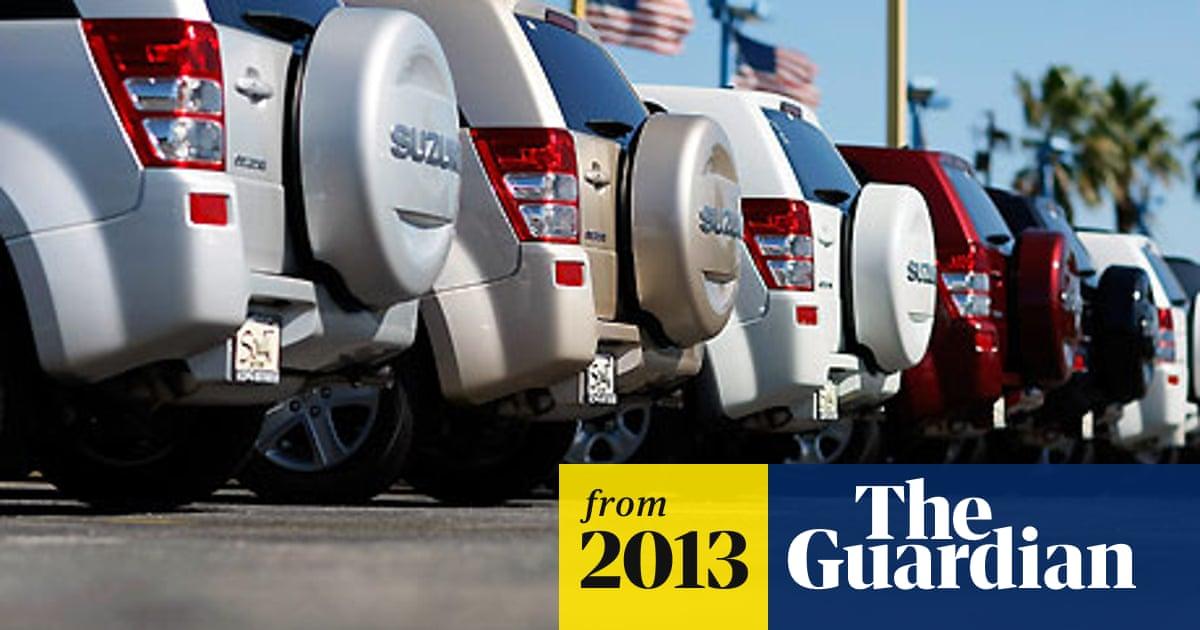Suzuki recalls almost 200,000 cars due to defective airbag sensor