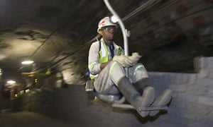Xstrata's Kroondal mine in South Africa
