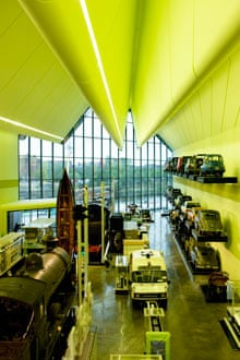 The Riverside Museum, Glasgow, by architect Zaha Hadid