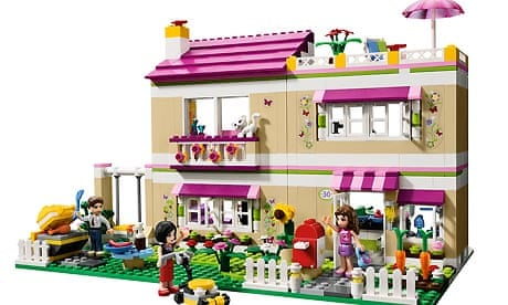Legos Profits Rise As It Thinks Pink Business The Guardian