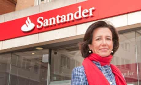 Ana Botín, Santander UK chief executive