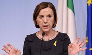 Elsa Fornero, Italian labour minister