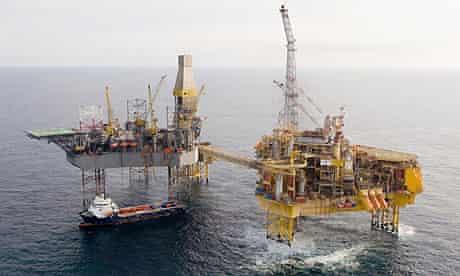 Total's Elgin oil and gas platform
