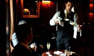 Waiter at the Hyatt Hotel, London