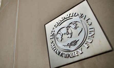 International Monetary Fund Building In Washington, DC