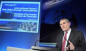GDF Suez's chief executive Gérard Mestrallet