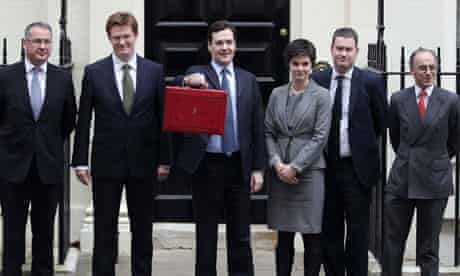 Chancellor George Osborne, March 2012 budget