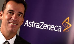 AstraZeneca Chief Executive David Brennan who today announced he was stepping down