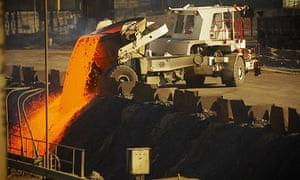 Xstrata smelter in Chile