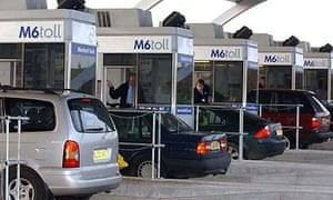 M6 toll