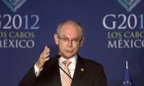 Herman Van Rompuy of the European Council