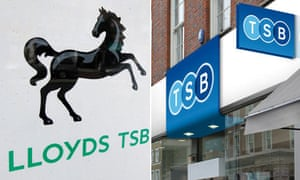 Lloyds TSB composite - old and new