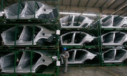 Chinese car factory/manufacturing