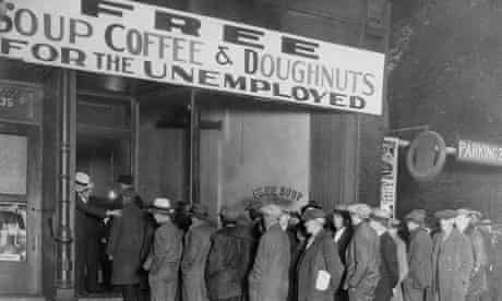 Al Capone attempts to help unemployed men with his soup kitchen 'Big Al's Kitchen for the Needy'
