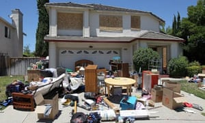 Abandoned house in Antioch, California/foreclosures