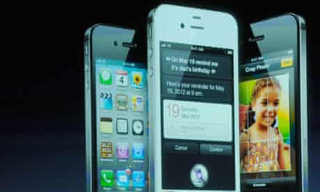 Apple CEO Tim Cook Introduces iPhone 4s