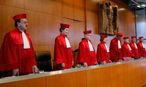 German constitutional court, Karlsruhe
