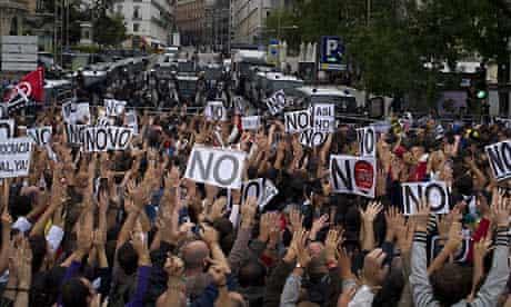 Madrid demonstration