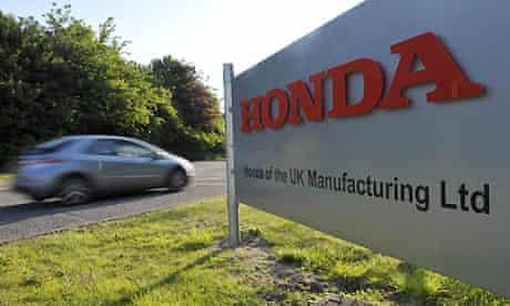 Honda to cut jobs at Swindon factory