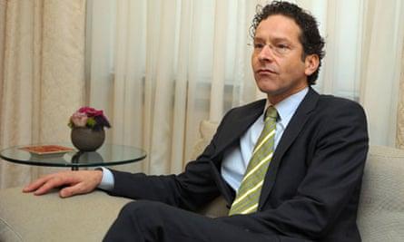 Netherlands' finance minister Jeroen Dijsselbloem