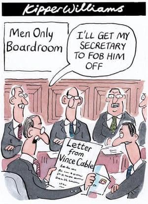 Kipper Williams on lack of women in boardrooms
